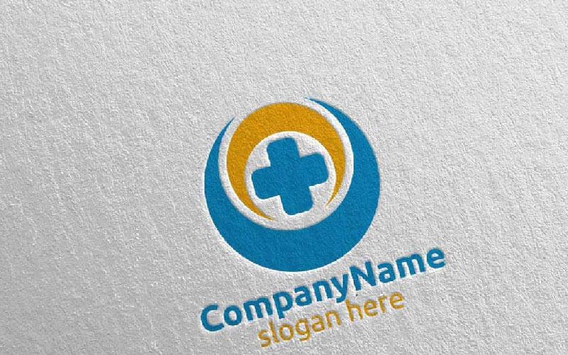 Plantilla de logotipo Cross Medical Hospital Design 10
