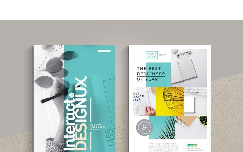 Folleto Minimal de Producto y Fotografía - Plantilla de Identidad Corporativa