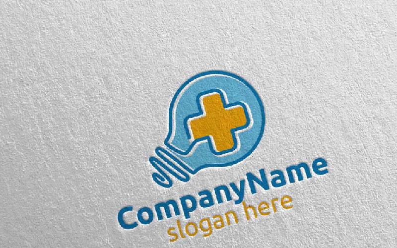 Plantilla de logotipo Cross Idea Medical Hospital 33