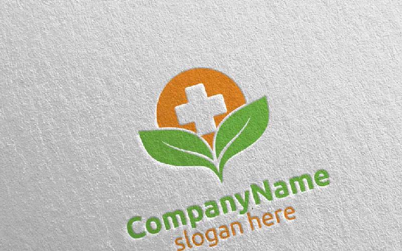 Plantilla de logotipo de Natural Cross Medical Hospital 18
