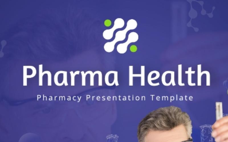 Plantilla de PowerPoint completamente animada Pharma Health