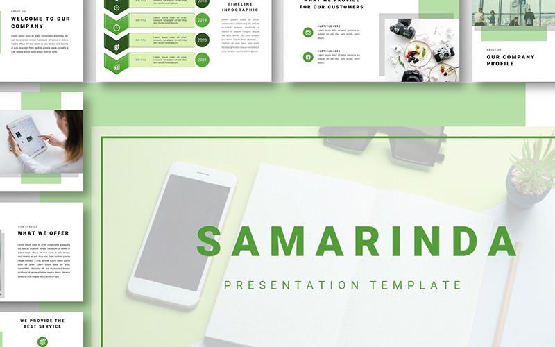 Samarinda - Plantillas de Presentaciones PowerPoint
