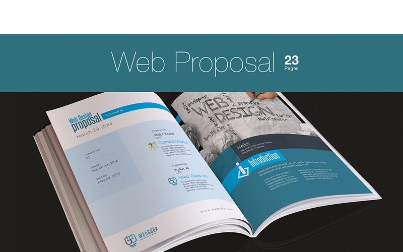 Propuesta Web para Proyecto de Diseño Web - Plantilla de Identidad Corporativa