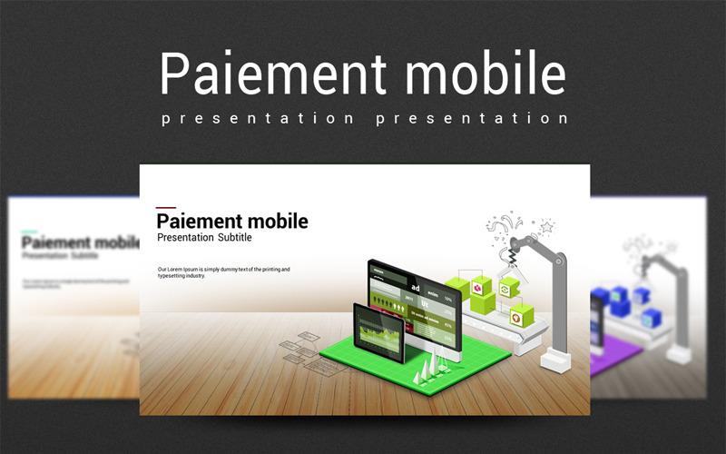 Plantilla de PowerPoint - pago móvil
