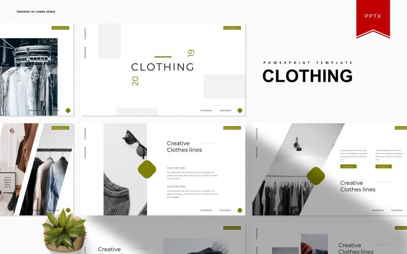 Chloting | Plantilla de PowerPoint