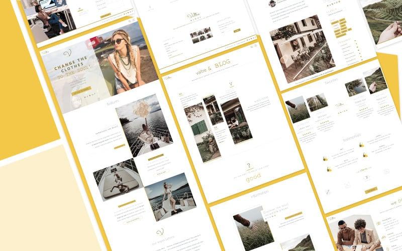 Valtre Travel Bootstrap HTML Website Template