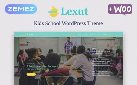 Lexut - Education ECommerce Modern Elementor WordPress Theme