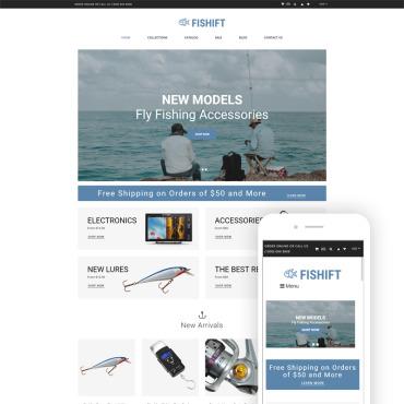 Купить  пофессиональные Shopify шаблоны. Купить шаблон #80153 и создать сайт.