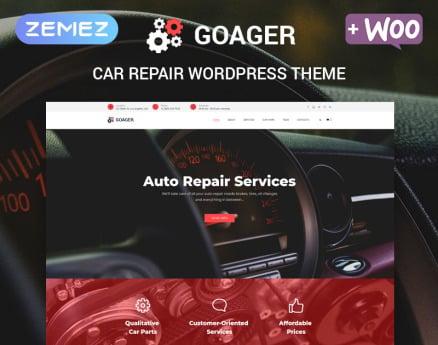 Goager - Auto Repair ECommerce Modern Elementor WordPress Theme