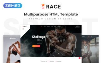 Race - Sports Event Creative Multipurpose HTML5 Website Template