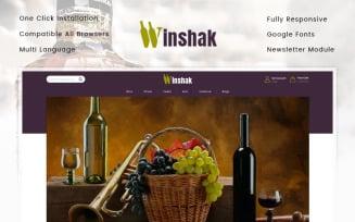 Winshak - Wine Store OpenCart Template