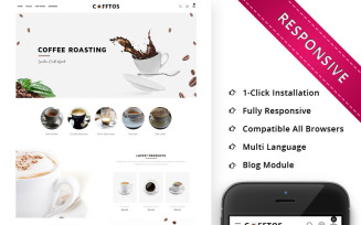 Cofftos - The Beverage Store OpenCart Template