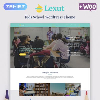Flexível tema WordPress №80114 para Sites de Educação