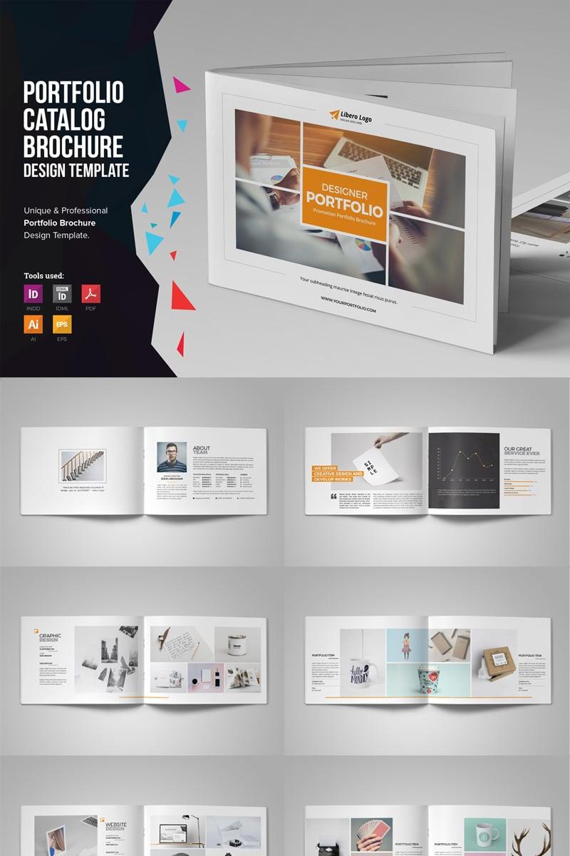 """Plantilla De Identidad Corporativa """"Miyaji - Portfolio Brochure Design"""" #80109"""