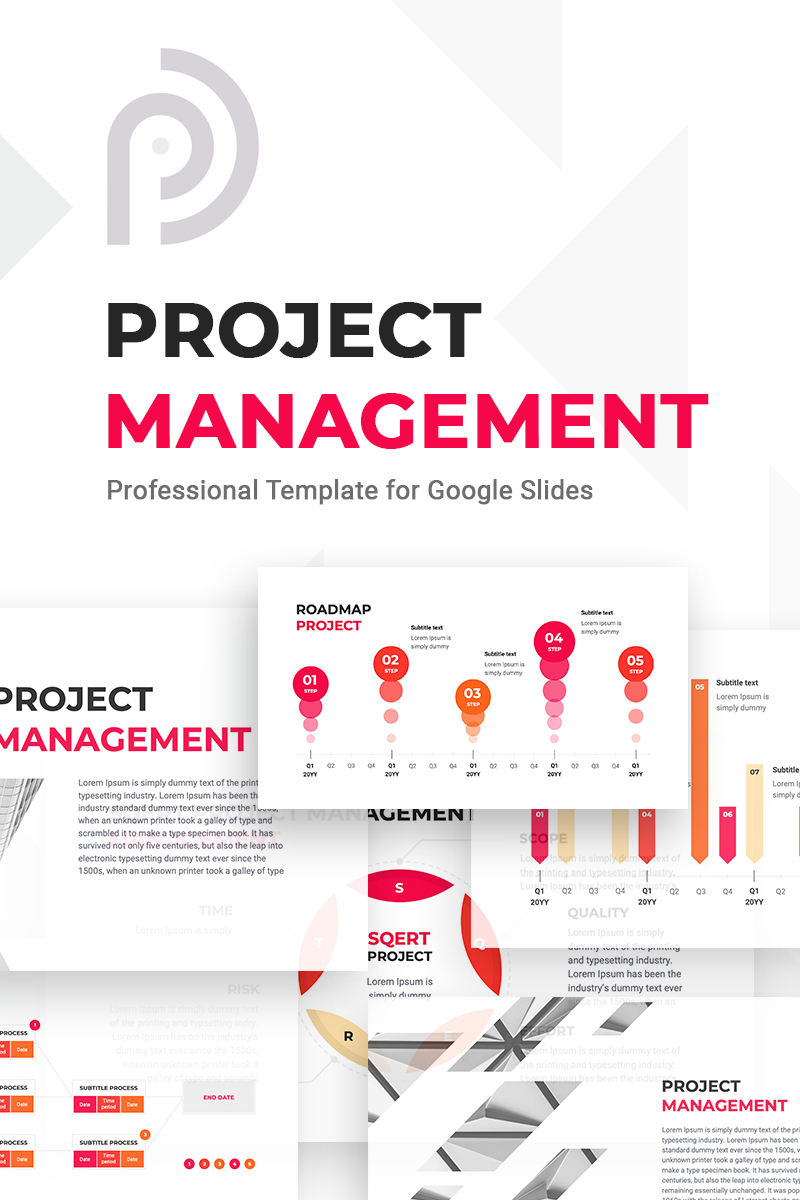 """Project Management"" Google Slides #80166 - 截图"