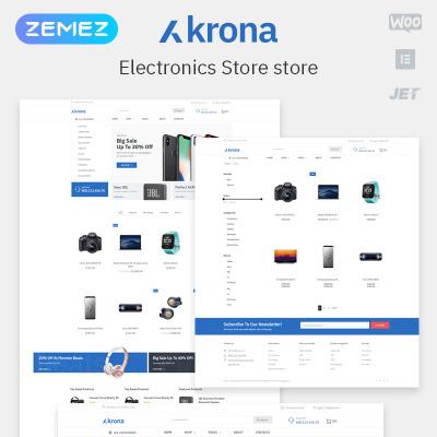 Responsywny motyw WooCommerce #80170 na temat: sklep elektroniczny