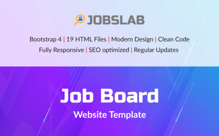 JobsLab - Job Board Website Template