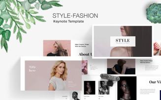 Style-Fashion Keynote Template