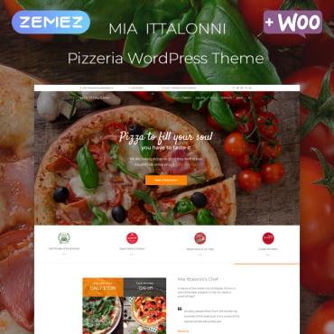 Купить  пофессиональные WordPress темы. Купить шаблон #80269 и создать сайт.