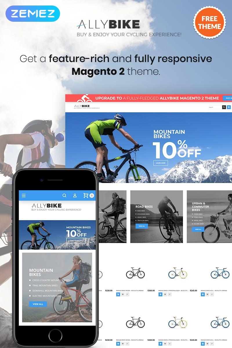 AllyBike - FREE Sports eCommerce №80267