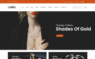 Beliez - Jewelry Shop WooCommerce Theme