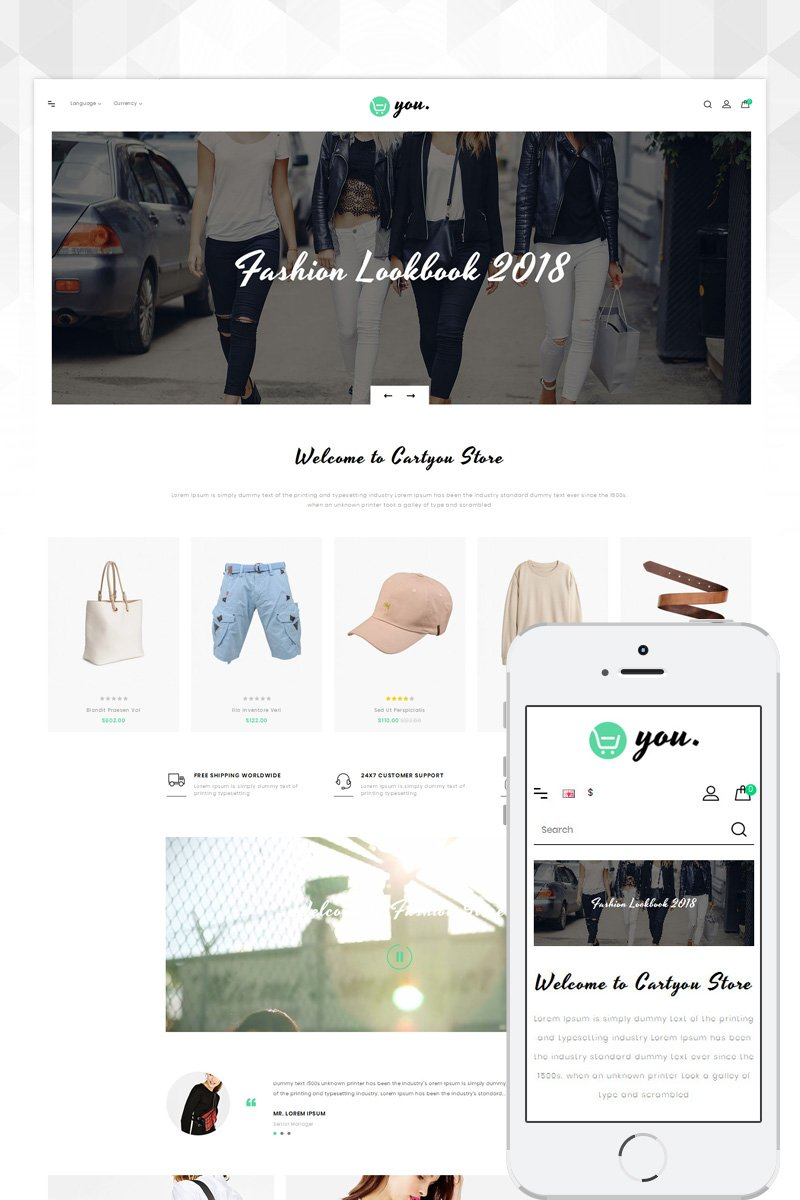 CartYou - Accessories Store OpenCart Template
