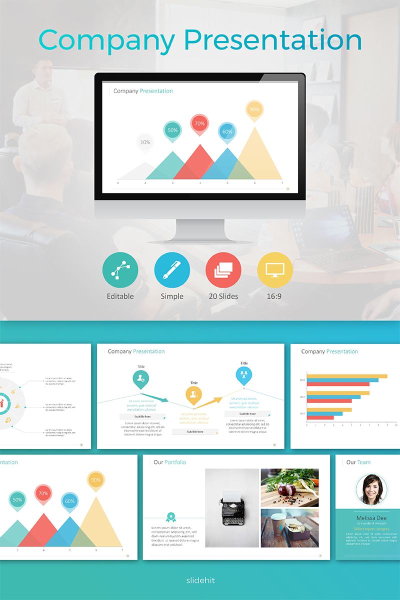 Company Slides PowerPoint Template