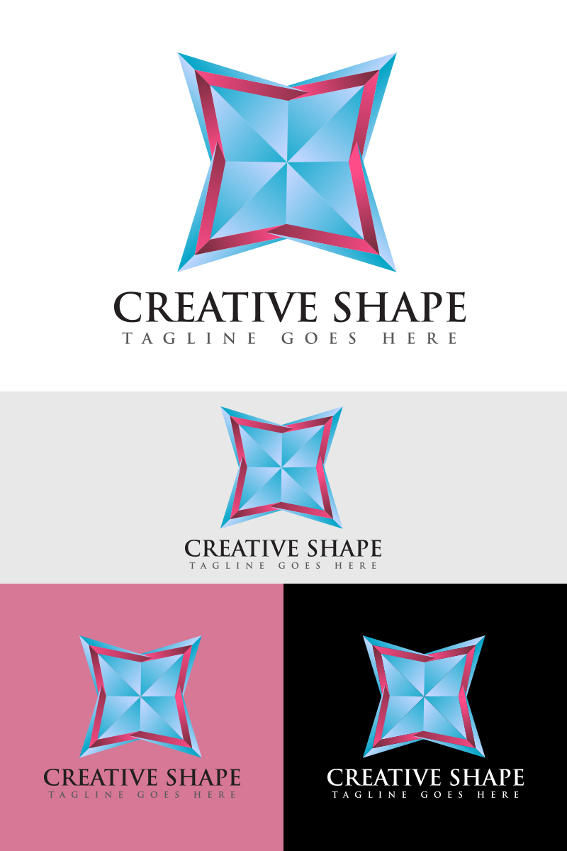 Creative Shape Logo Template