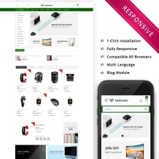 Responsive Opencart Templates Templatemonster