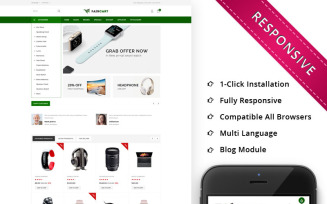 Faircart - The Elecntronic Store OpenCart Template