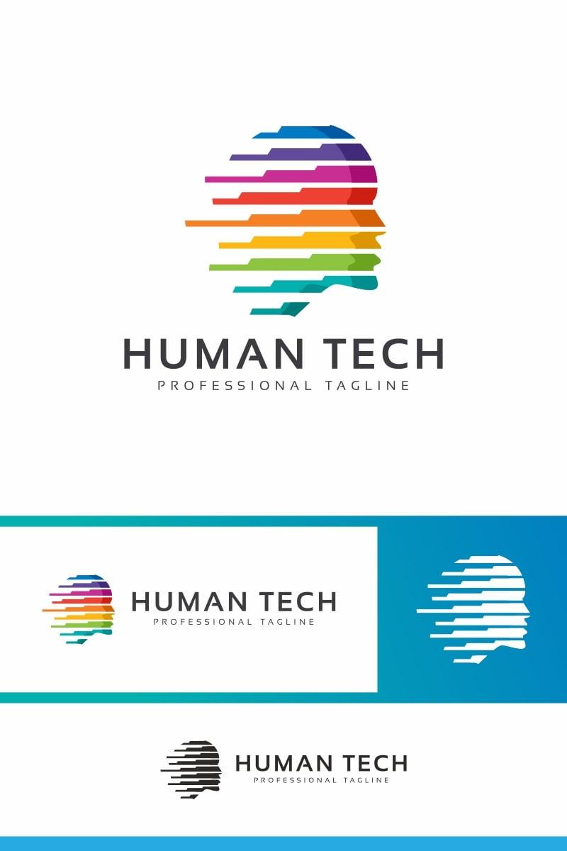 Human Tech Logo Template