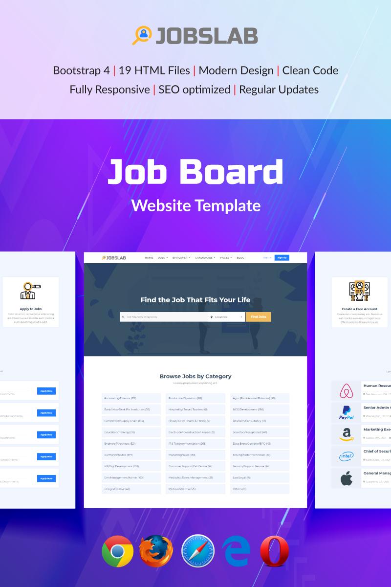 JobsLab - Job Board №80213
