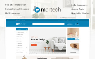 Martech - Furniture Store OpenCart Template