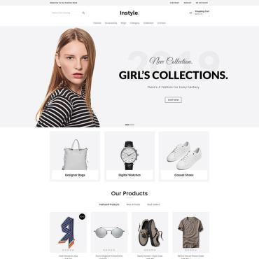 Купить  пофессиональные Shopify шаблоны. Купить шаблон #80308 и создать сайт.