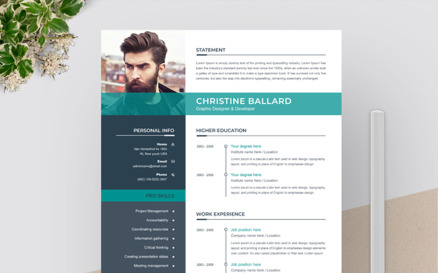 Christine Resume Template