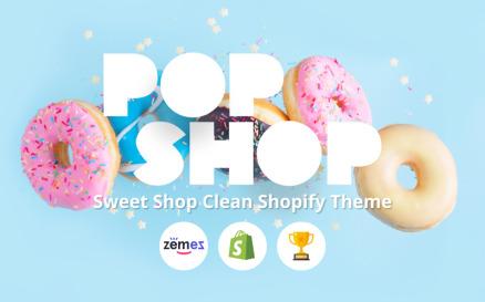 Popshop - Sweet Shop Clean Shopify Theme