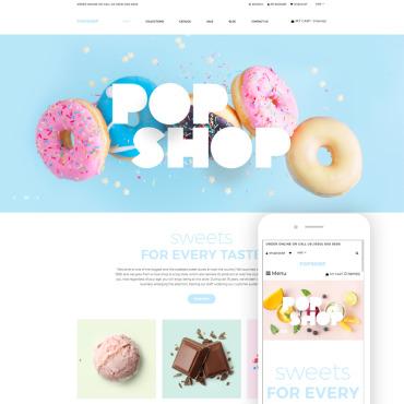 Купить  пофессиональные Shopify шаблоны. Купить шаблон #80379 и создать сайт.