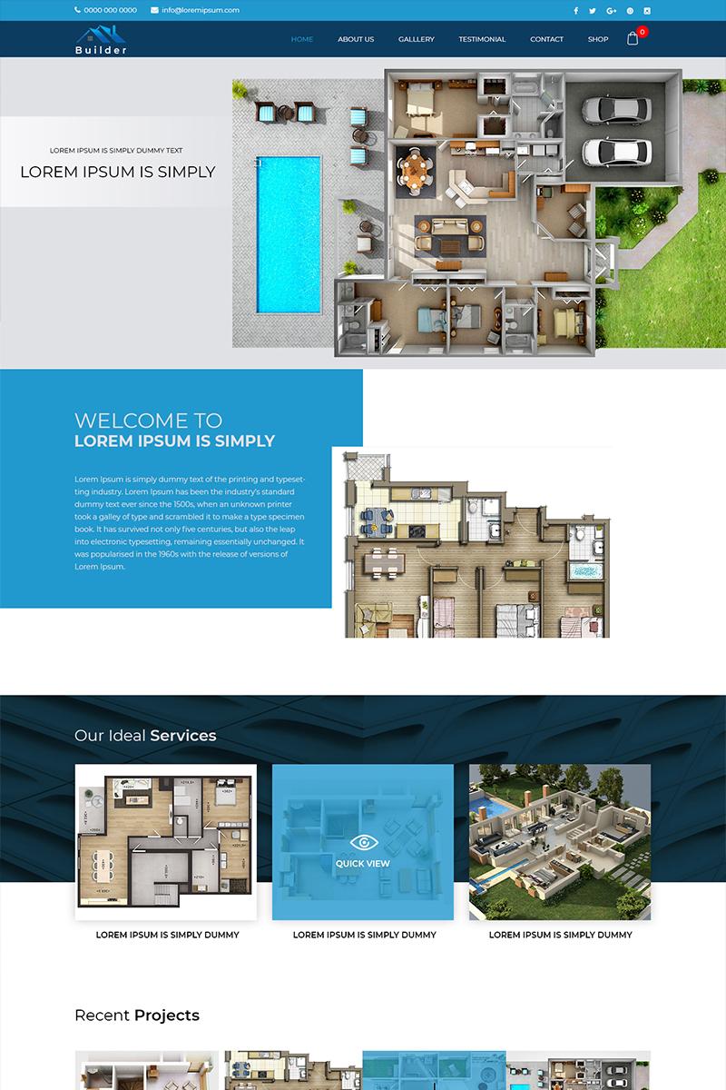 Builder - Building Planner PSD-mall #80384