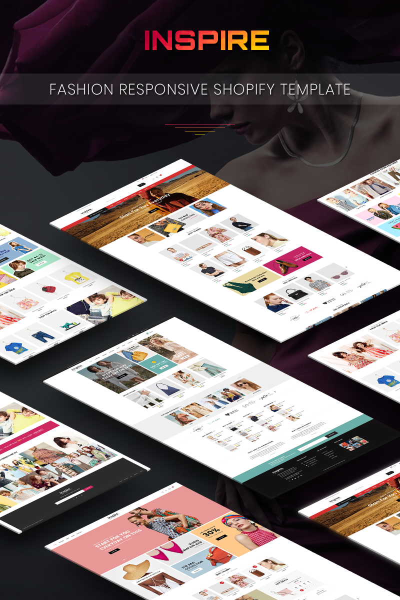 Inspire - Responsive eCommerce Shopify Theme
