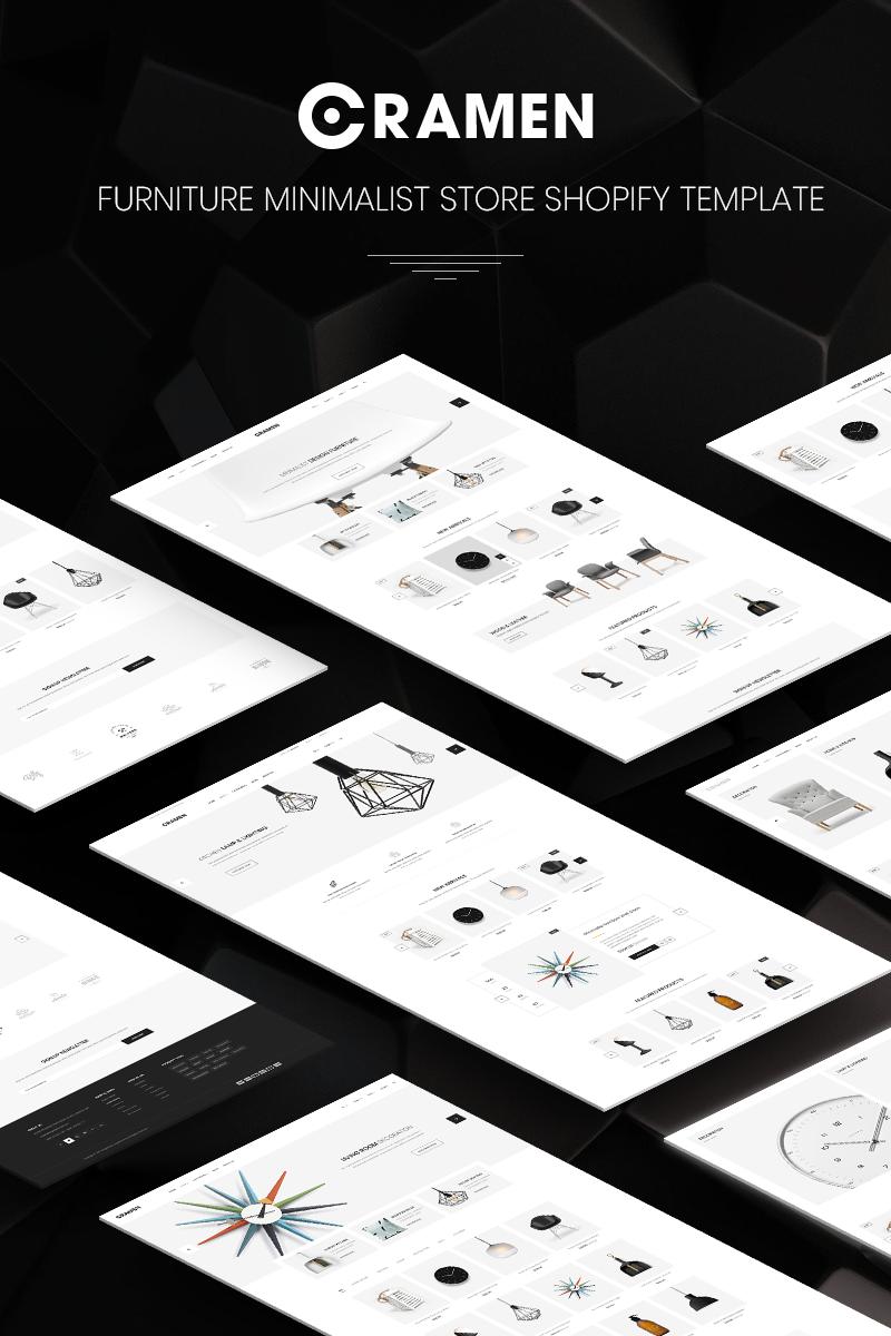 """Venza - Responsive eCommerce"" Shopify Thema №80399"
