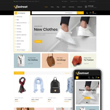 Купить  пофессиональные WooCommerce шаблоны. Купить шаблон #80401 и создать сайт.