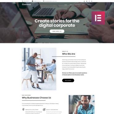 Купить  пофессиональные WordPress темы. Купить шаблон #80414 и создать сайт.