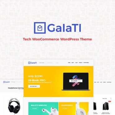 Купить  пофессиональные WooCommerce шаблоны. Купить шаблон #80415 и создать сайт.