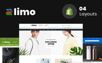 Limo - Sectioned Multipurpose Store Shopify Theme