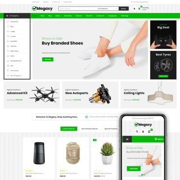 Купить  пофессиональные WooCommerce шаблоны. Купить шаблон #80425 и создать сайт.