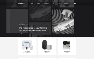 Guardina - Security eCcommerce Modern Shopify Theme