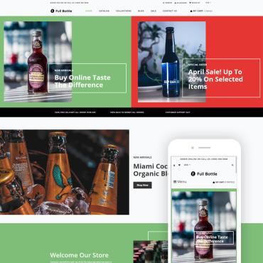Купить  пофессиональные Shopify шаблоны. Купить шаблон #80434 и создать сайт.