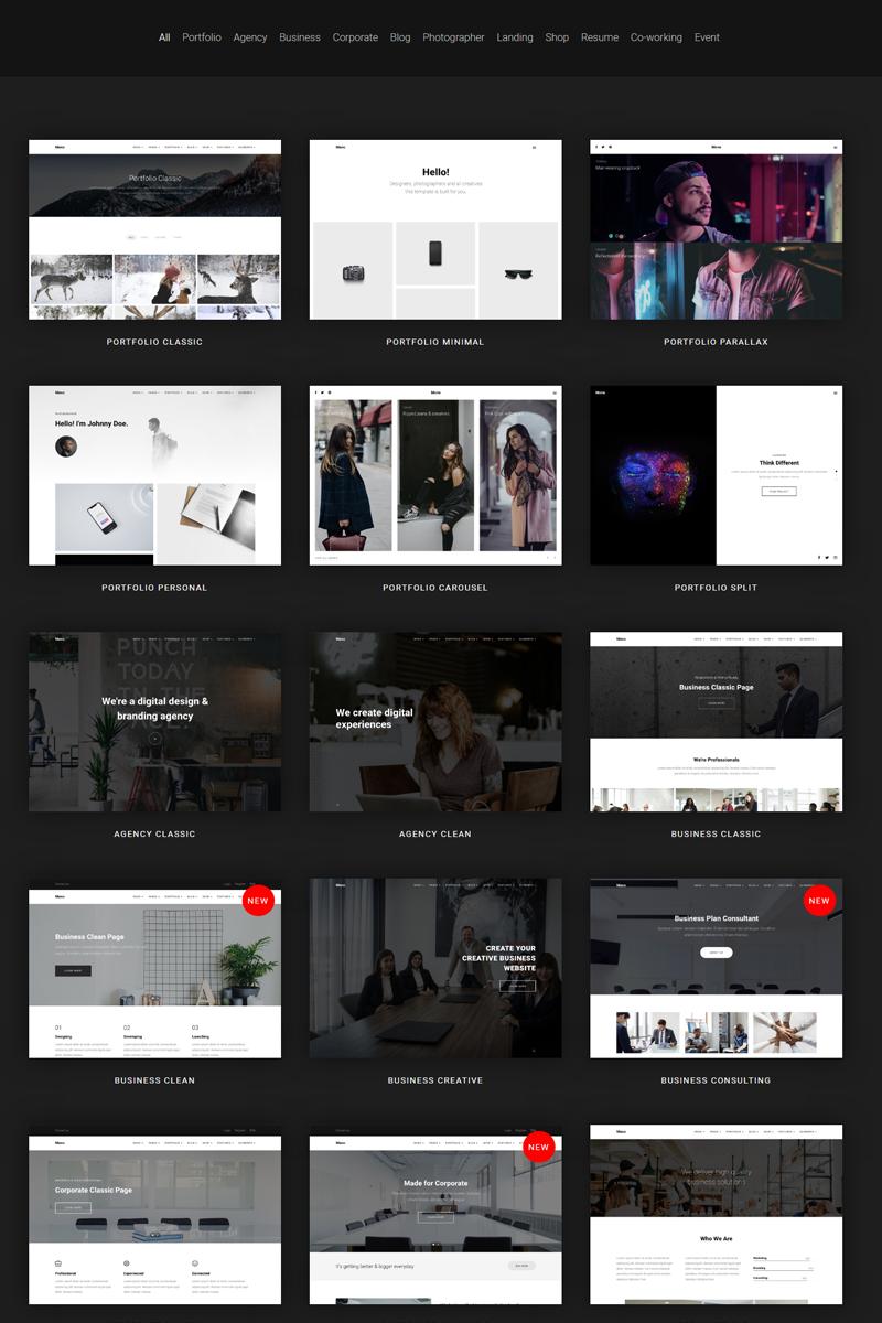 """Mono - Creative MultiPurpose Business"" - адаптивний Joomla шаблон №80481"