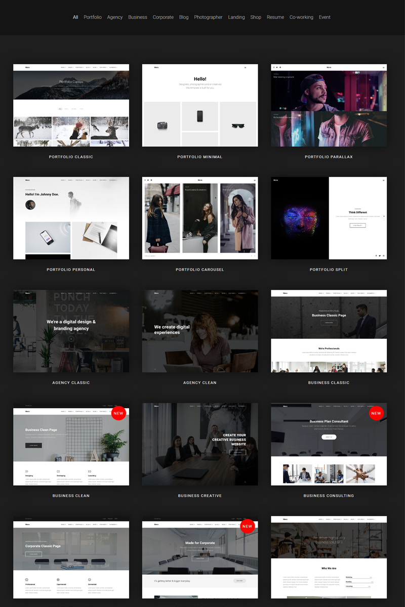 Mono - Creative MultiPurpose Business Joomla Template - screenshot