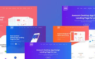 Opo - Creative App Website Template